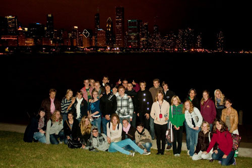 Reflections International | International High School Youth Exchange | Wisconsin | Chicago Skyline
