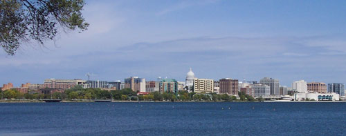 Reflections International | International High School Youth Exchange | Wisconsin | Madison Skyline